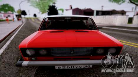 VAZ 2106 Retro for GTA San Andreas left view