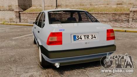Fiat Tempra SX.A v2.0 for GTA 4 back left view