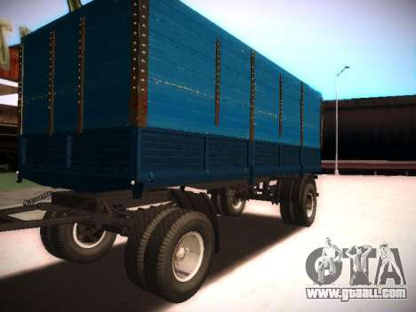 Trailer Kamaz 5320 for GTA San Andreas
