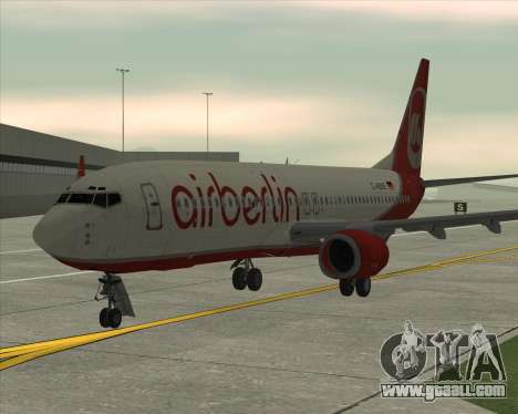 Boeing 737-800 for GTA San Andreas