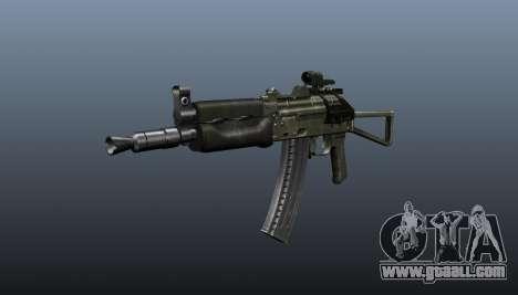 Automatic AKS74U v2 for GTA 4