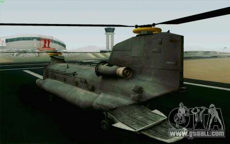 MH-47 for GTA San Andreas left view