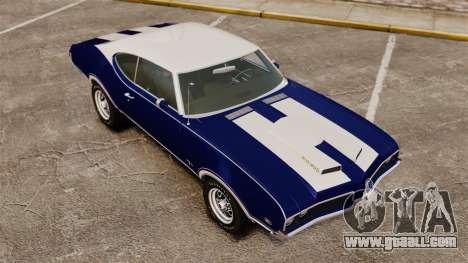 Oldsmobile Cutlass Hurst 442 1969 v1 for GTA 4 side view