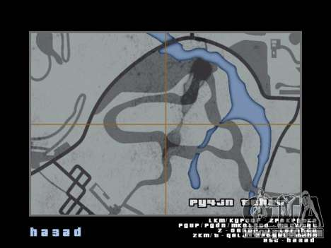 Map in the style of GTA 5 for GTA San Andreas tenth screenshot