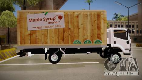 Chevrolet FRR Maple Syrup World for GTA San Andreas left view