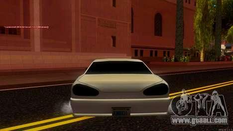 Elegy Estoq for GTA San Andreas back left view