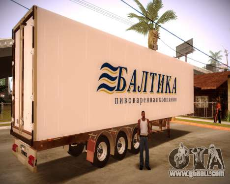 Reefer Baltic for GTA San Andreas