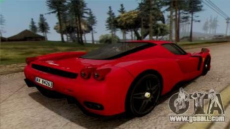 Ferrari Enzo 2002 for GTA San Andreas left view