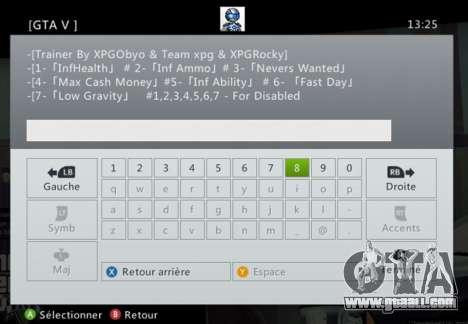 Team XPG GTA V Trainer 9 for GTA 5