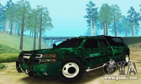 Chevrolet Silverado 3500 Military for GTA San Andreas