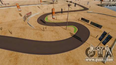 Location DesertDrift ProStreetStyle for GTA 4 sixth screenshot