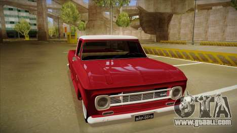 Chevrolet C-10 1974 for GTA San Andreas left view