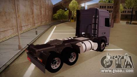 Volvo FH12 Globetrotter for GTA San Andreas right view