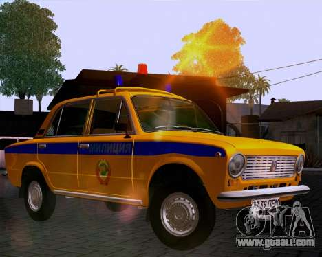 VAZ 21011 Police for GTA San Andreas