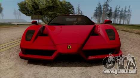 Ferrari Enzo 2002 for GTA San Andreas back left view