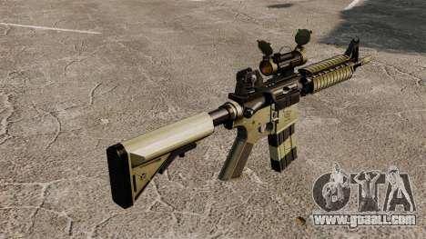 Automatic carbine M4 CQBR v1 for GTA 4 second screenshot
