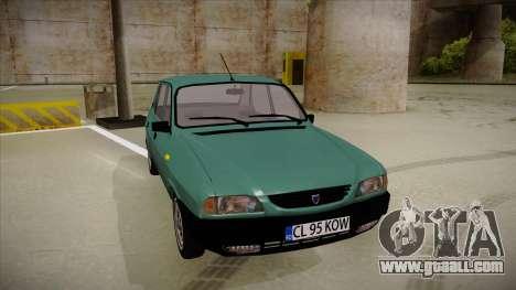 Dacia 1310 Berlina 2001 for GTA San Andreas left view