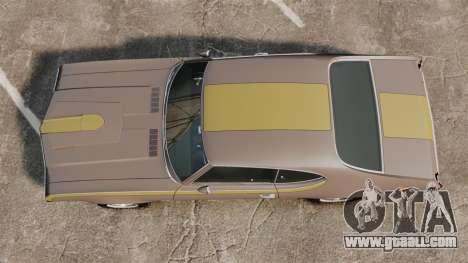 Oldsmobile Cutlass Hurst 442 1969 v1 for GTA 4 right view