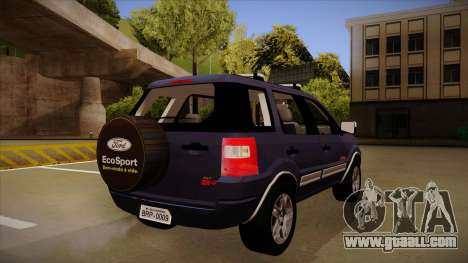 Ford Ecosport FreeStyle 2007 for GTA San Andreas right view