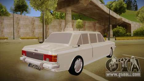 Paykan Limousine for GTA San Andreas right view