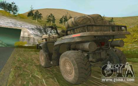 ATV of the Medal of Honor for GTA San Andreas right view