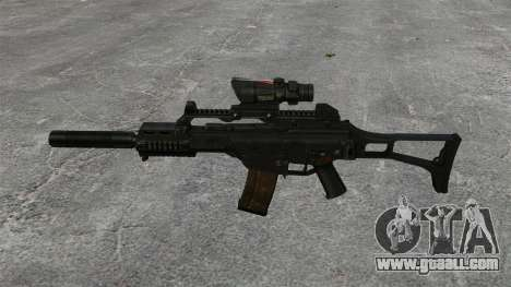 Automatic HK G36C v4 for GTA 4 third screenshot
