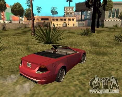 Feltzer Benefactor of GTA 4 for GTA San Andreas left view