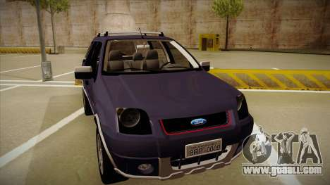 Ford Ecosport FreeStyle 2007 for GTA San Andreas left view