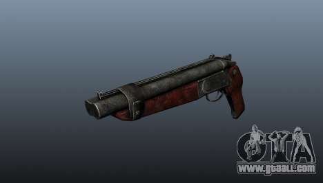 Sawed-off shotgun v2 for GTA 4
