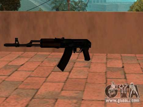 AK-74 Buttstock for GTA San Andreas second screenshot
