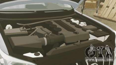 Toyota Land Cruiser Prado 150 for GTA 4 inner view