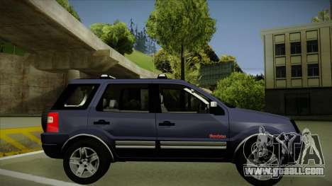 Ford Ecosport FreeStyle 2007 for GTA San Andreas back left view