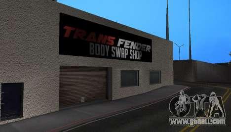 Wang Cars for GTA San Andreas forth screenshot