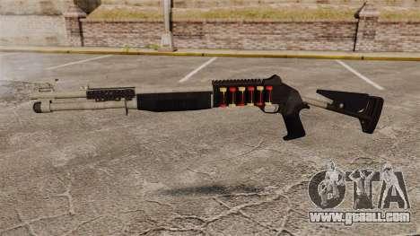 Shotgun M1014 v1 for GTA 4 third screenshot