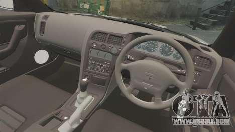 Nissan Skyline R33 NISMO 400R for GTA 4 inner view
