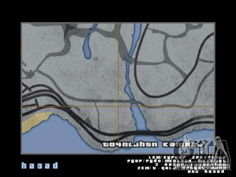 Map in the style of GTA 5 for GTA San Andreas eleventh screenshot