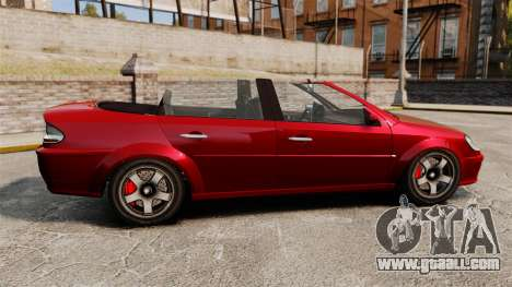 Convertible version of the Premier tuning for GTA 4 left view