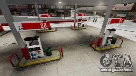 Pertamina GAS STATION for GTA 4 fifth screenshot