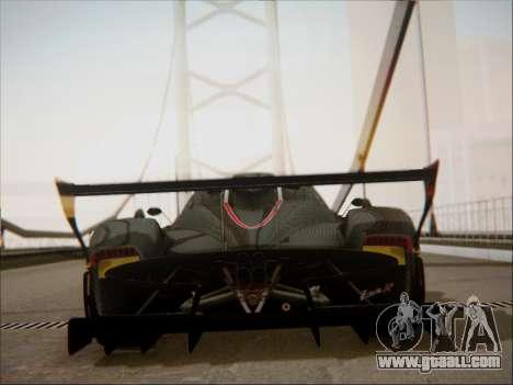 Pagani Zonda R for GTA San Andreas side view
