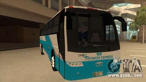 Zaibee Daewoo Express Coach for GTA San Andreas