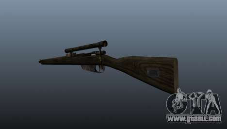 Carcano sniper rifle for GTA 4 second screenshot