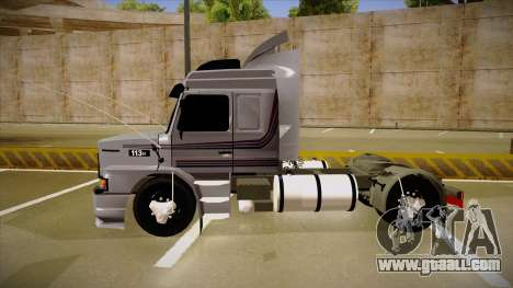 Scania 113H Top Line Neee Edit for GTA San Andreas back left view