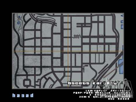 Map in the style of GTA 5 for GTA San Andreas eighth screenshot