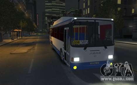 LIAZ 5256.57-01 2013 for GTA 4