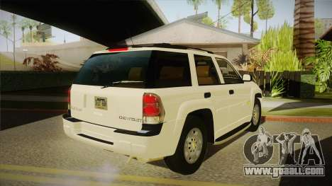 Chevrolet Trail Blazer for GTA San Andreas right view