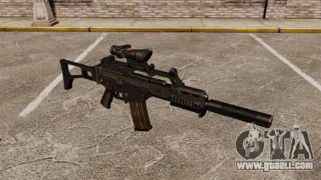 Automatic HK G36C v4 for GTA 4