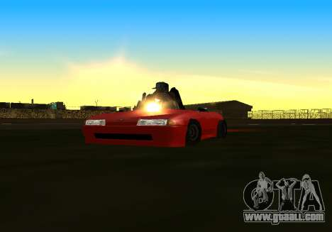 Baby Elegy v1 by Gh0ST for GTA San Andreas back left view