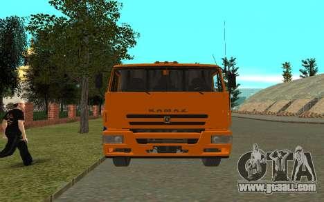 KAMAZ 6520 for GTA San Andreas right view