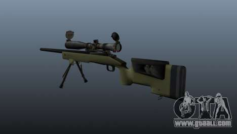 Sniper rifle M40A3 for GTA 4 second screenshot