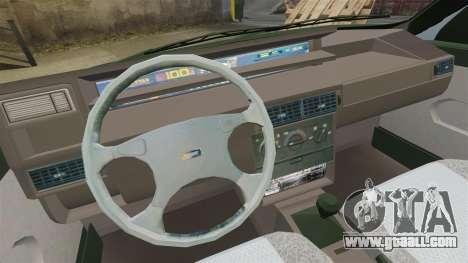 Fiat Tempra SX.A v2.0 for GTA 4 inner view